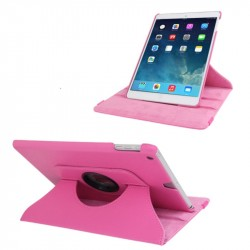 iPad Air Skinn Fodral 360 Rosa