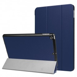 For iPad 9.7 inch 2017 Custer Texture Horizontal Flip Leather Case Blue