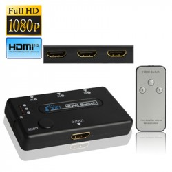 3 Port Amplifier 1080P HDMI Switch, 1.3 Version