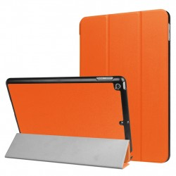 For iPad 9.7 inch 2017 Custer Texture Horizontal Flip Leather Case Orange
